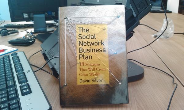 The social network business plan van david silver is binnen!