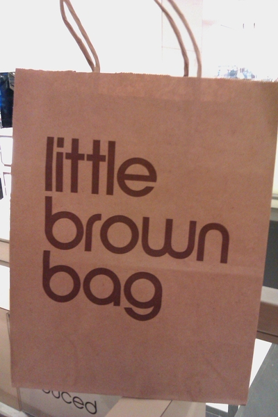 I Now Have My Own Little Brown Bag