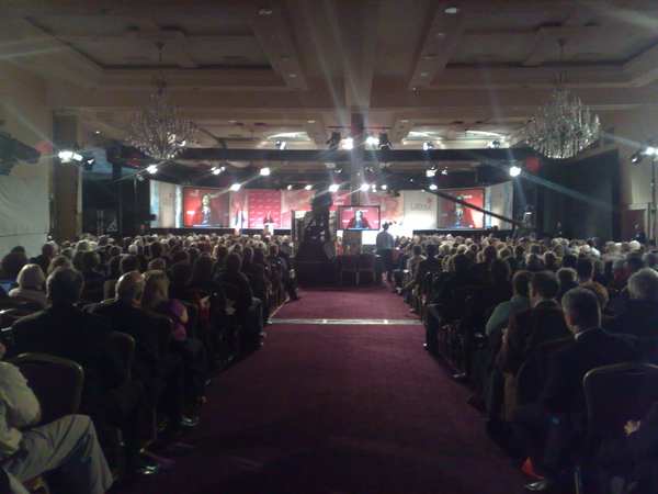 #labour from the back of the room in the labour conference, Mullingar