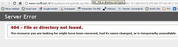 Waarom kunnen veel (semi-)overheidswebsites niet een degelijke 301 verhuizing of goede 404 uitwerken? cc @rooftrack