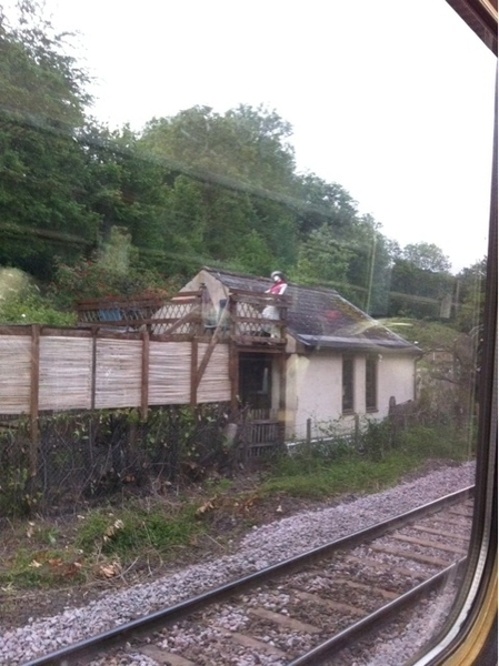 Avoncliffe Station is a bit creepy crazy #fgw