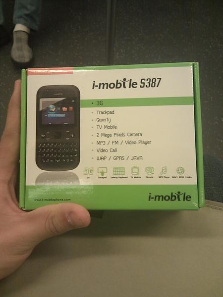 i-mobile เครื่องแรกในชีวิต