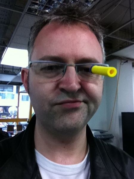 Come next Fri and shoot me in the face. #techhub http://Meetup.com/TechHub