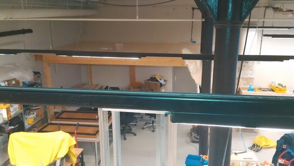Onze lounge heeft ondertussen ook een vloer #klussen
