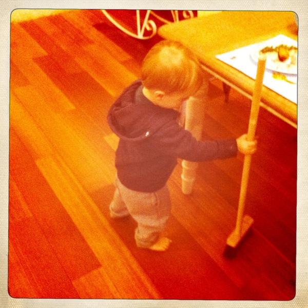 Fletcher of the day: Broom