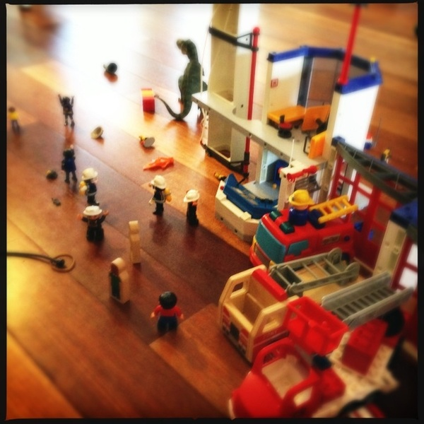 Fletcher's firehouse