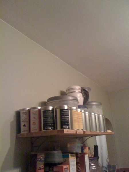 I know you thought I was kidding. (there's more in the cupboard) @DAVIDsTEA