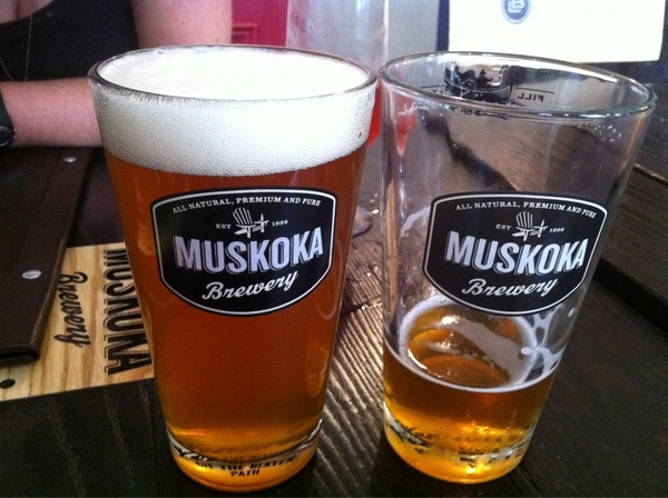 And two is better than one! @MuskokaBrewery #madtomipa at @GriffinGastro