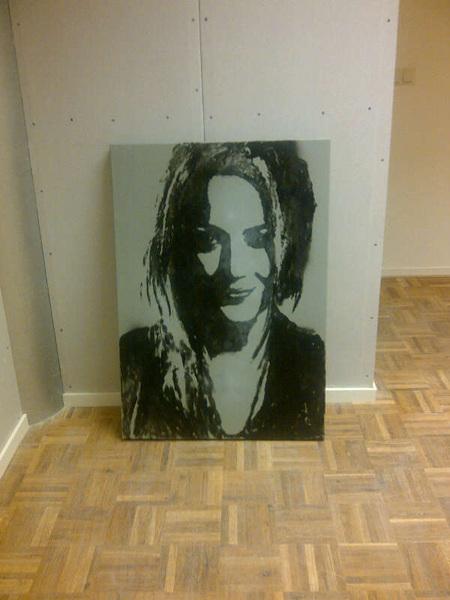 Je eigen gezicht op een schilderij.. bizar!
