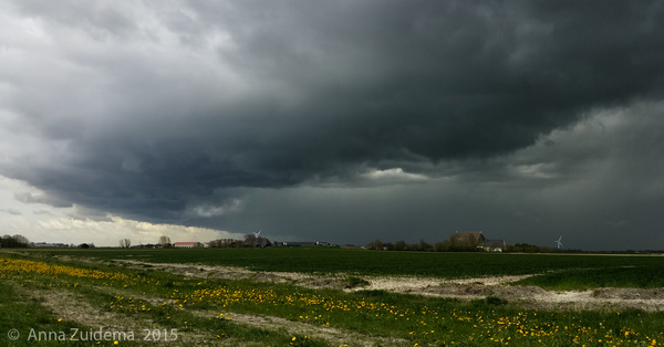 Onder het Lijntje Pingjum Frl. 14.15 #onweer #buienradar