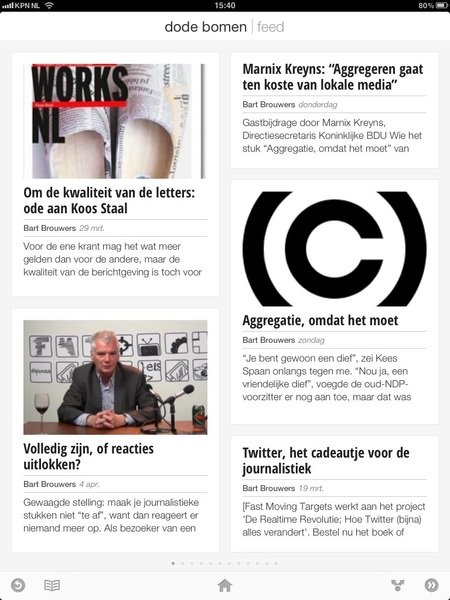Tof. Dodebomen.nl op Google Currents!