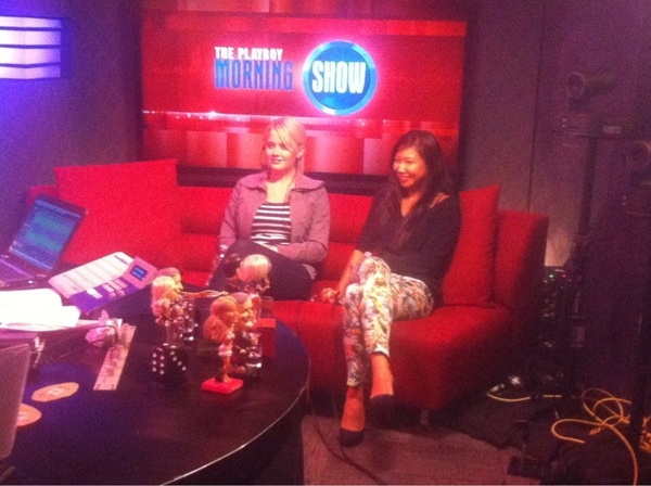 Playmates!! @AnnaSophiaB & @hiromioshima join us to judge The Sex Factor!