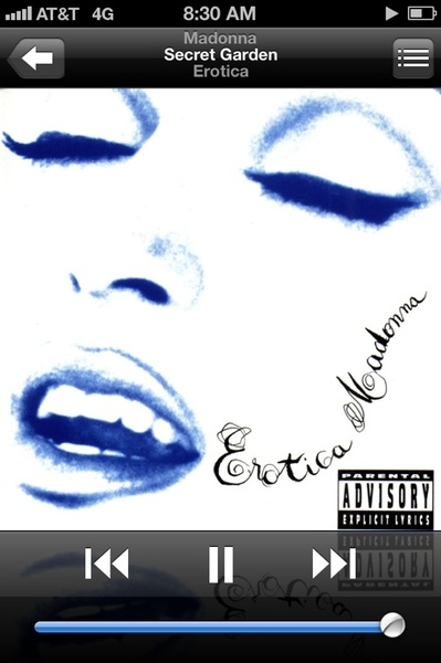 "#NP ""Secret Garden"" by QUEEN #Madonna      #Erotica #MASTERPIECE!!"