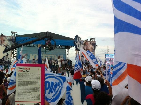 #JosefinaPresidente #ElCruceDeJosefinaSobreEPN