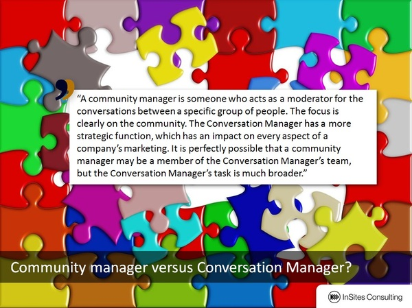 Conversation Manager vs Community Manager