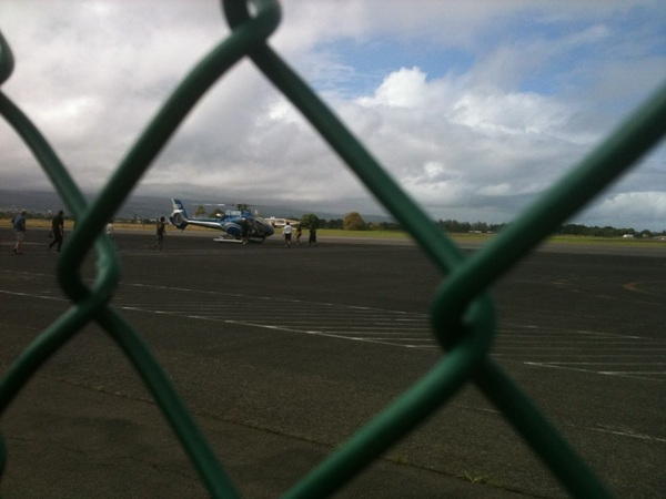 Hilo, Kona- about to see the volcanos via helicopter! @startuphi