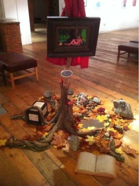 """""""At The Threshold"""" Installation Mill Street Studios Gallery Dublin"""