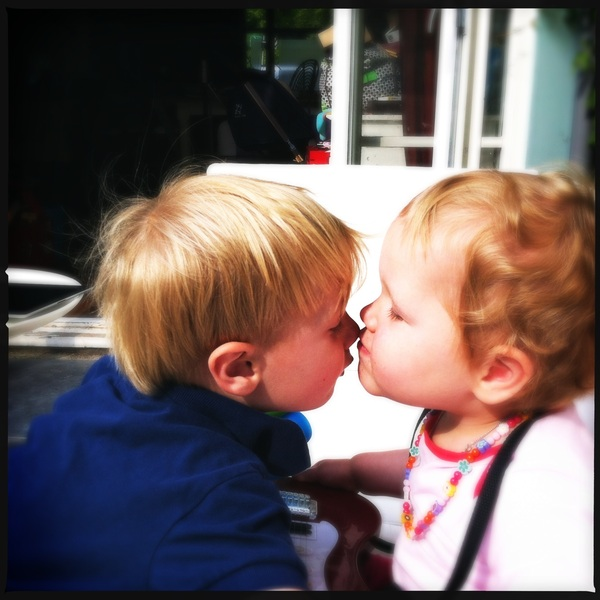 Fletcher of the day: kiss