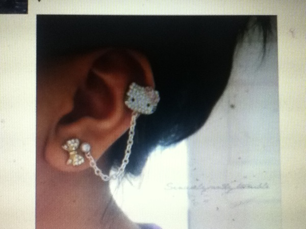 That's how I'm getting my ear :)) MAYBE !!