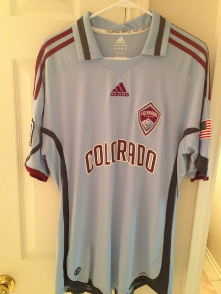 @SwapOfTheTable Adidas authentic Colorado Rapids large #swapofthetable