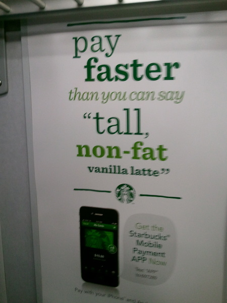 Another great Text for APP example spotted on the NJT Dover train this evening.