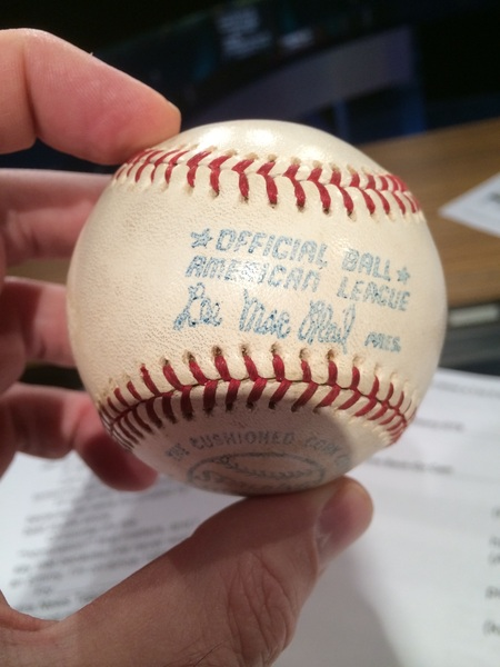As #RedSox and #Reds meet at Fenway for 1st time at Fenway since '75, if you're wondering where Fisk G6 HR ball is: