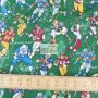The Whole 9 Yards Football Cotton Fabric