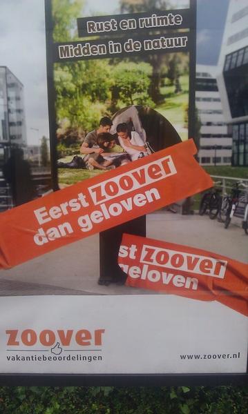 Nieuwe campagne: Eerst Zoover, dan geloven!