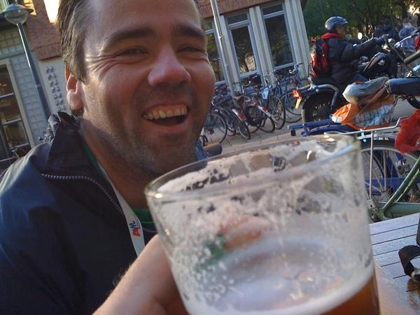 Jim. #runningmate #cheers