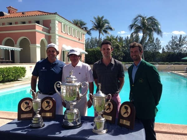 Player the Seminole Member Pro today .... Was in decent company....  #GrandSlam