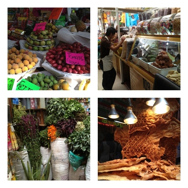 Medellín Mkt, La Roma DF: if the hugeness & chaos of Merced is too much for you, go to this amazing mkt in the Roma!