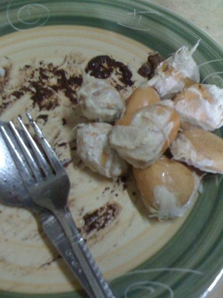 Dinuguan at Durian! Wla na! ;P