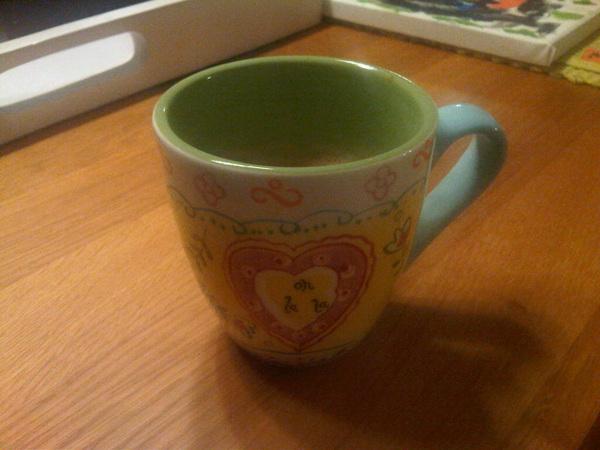 Heerlijk: koffie met dank aan @machiell