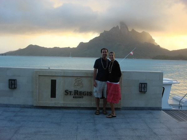 Just watched Couple's Retreat.I can't belive that we were there 2 1/2 years ago for our honeymoon!<3 bora bora!