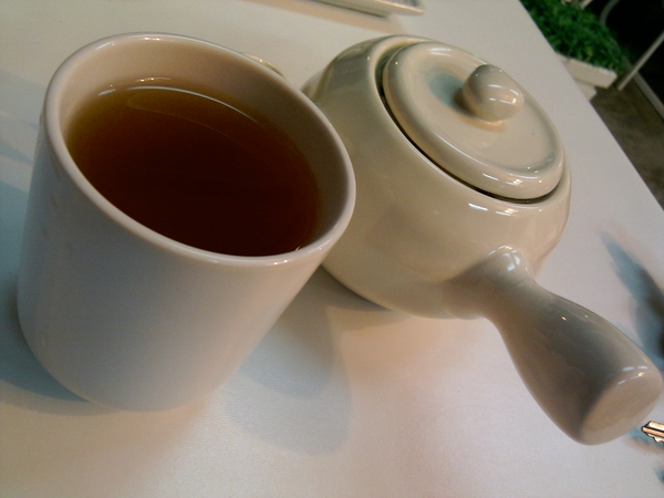 My Hot Green Tea