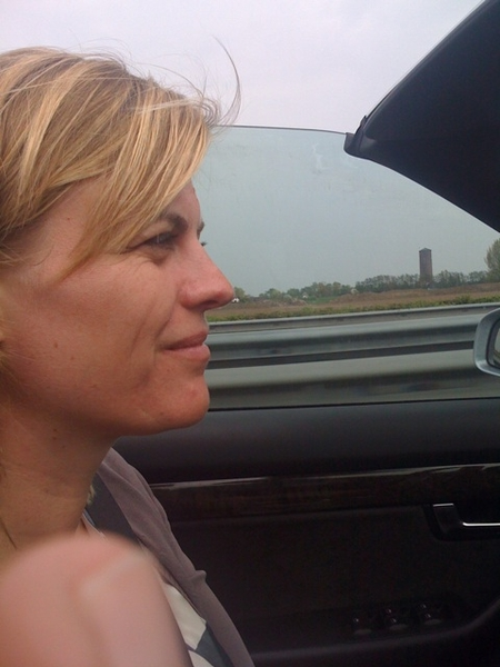 15 km of traffic jam is okay in our A4 cabrio