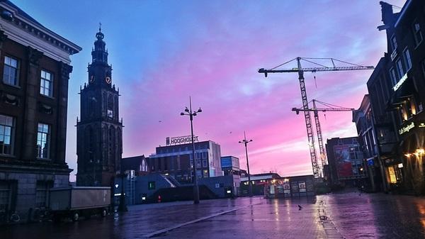 Great scene for my morning run #Groningen