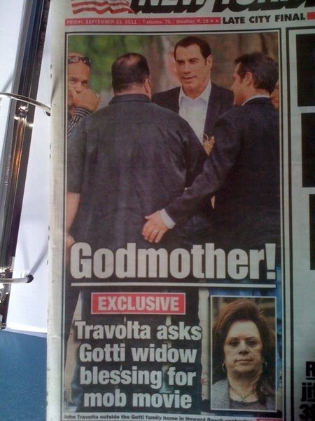 Hope this works out; John's a dead ringer for the widow Gotti.