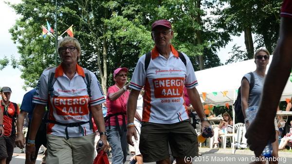 Vandaag foto's gemaakt van #4daagse in #weurt en de wandelaars uit #rosmalen op de foto gezet oa voor @doodmoegeboren