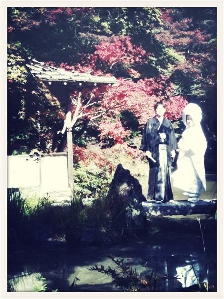 挙式終了~、皆様コメントありがとうございます。撮影はエクランの内池さんと @caby_maikofukui さんにお願いしました。