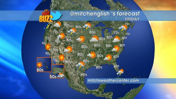 Here's @mitchenglish 's #weather forecast mitchsweathercenter.com @mitchsweather