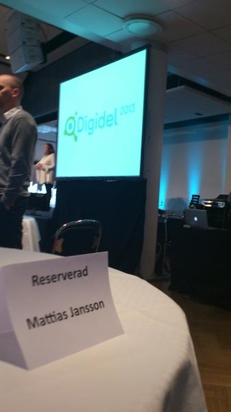 Lansering av #digidel2013