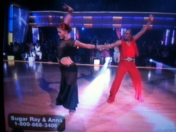 Sugar Ray & Anna punch it on Dancing with the Stars!