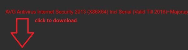 avg internet security 2013 serial number license key free