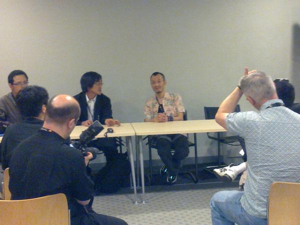 [JE11] Entretien avec Masakazu Katsura en cours...