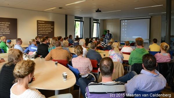 Grote opkomst bij #presentaties b1s & b1t VWO #talenttraject @rodenborch #rosmalen