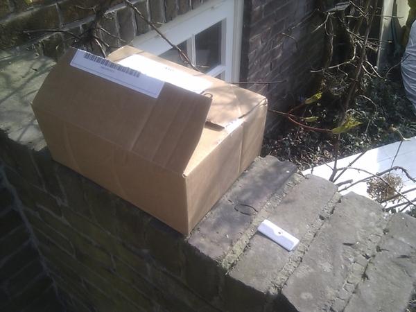 #siemens #hulde voor de levering van het onderdeel. #fail voor de verpakking. zie foto