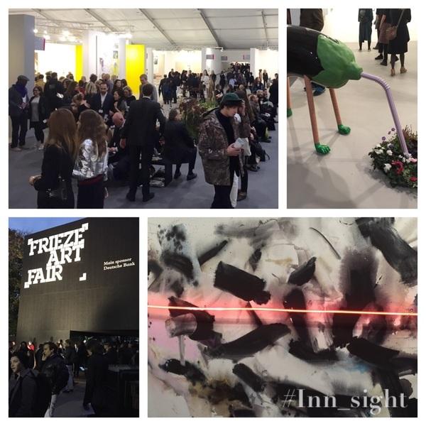 Views and #inspiration tonight - THANK YOU @friezelondon! #art #contemporary #modern