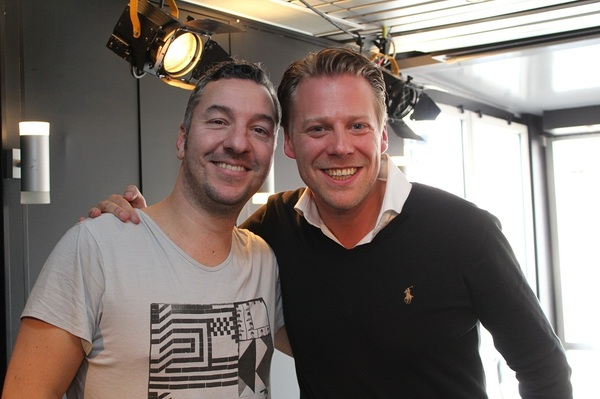 Nu on air in Maastricht: Dennis Ruyer en Tim Klijn! #538warchild #radio538