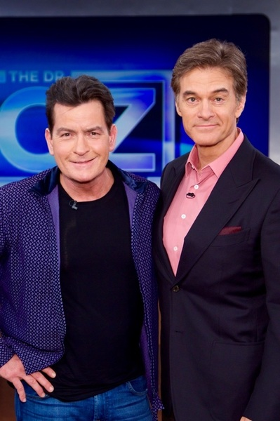 """please join Dr. Oz and I,  for """"part 2"""" of our pilgrimage into this disease. © #OzSheen2016"""